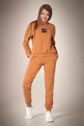 Спортивный костюм Andrea Fashion AF-61 карамель