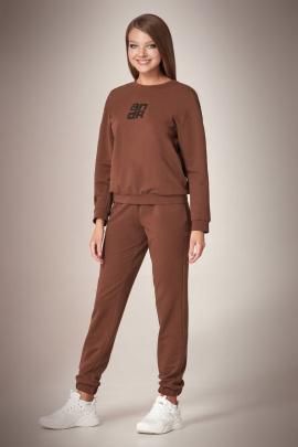 Спортивный костюм Andrea Fashion AF-61 шоколад