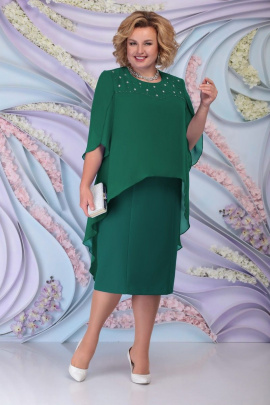 Платье Ninele 7298 изумруд