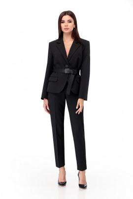 Женский костюм Мишель стиль 874 черный