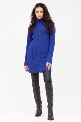 Платье Favorini 31240-Kilay синий