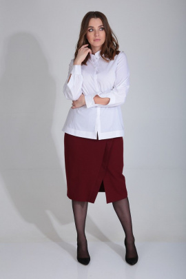 Блуза MALI 622 белый