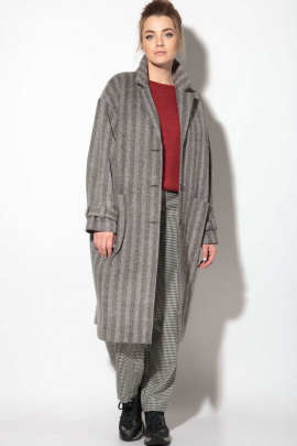 Пальто SOVA 11103 серый