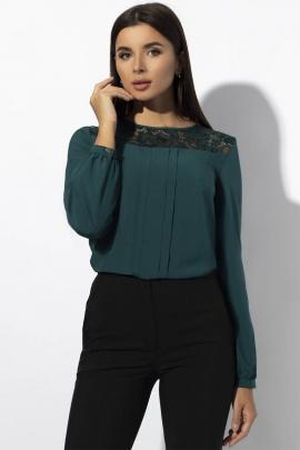 Блуза VIZAVI 629 изумруд