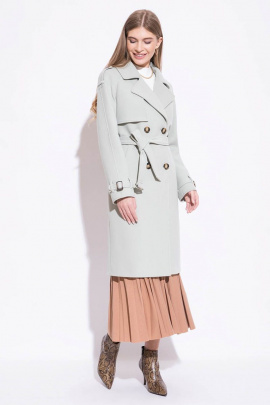 Пальто ElectraStyle 5-0005-128 фисташковый