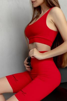 Топ Rawwwr clothing 096 красный