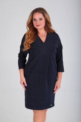 Платье SVT-fashion 483 темно-синий