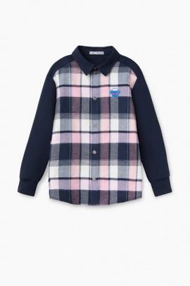 Рубашка Bell Bimbo 203129 клетка/т.синий