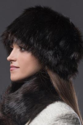 Шапка Зима Фэшн 011-4-20 коричневый_под_медведя