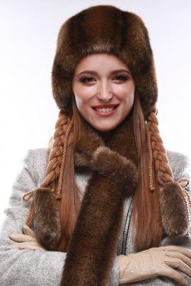 Шапка Зима Фэшн 023-2-11 под_бобра