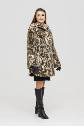 Шуба Зима Фэшн Belfa-1-12sv леопард