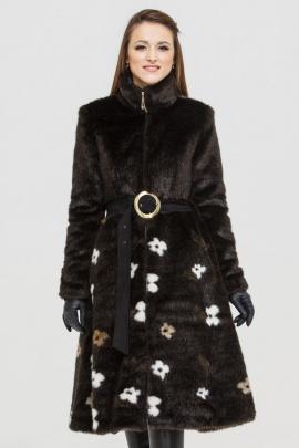 Шуба Зима Фэшн Сoat-dress-1-03 коричневый_под_норку