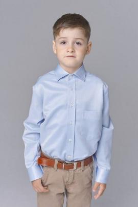 Рубашка Nadex 1537042И голубой