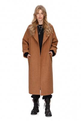 Пальто PiRS 1411 кэмел