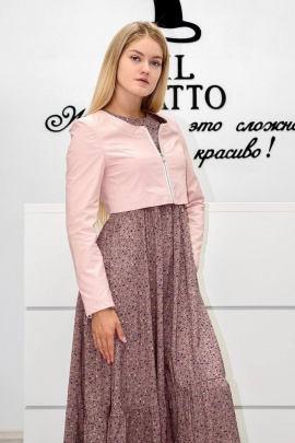 Болеро IL GATTO М-20-023Я розовый
