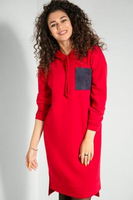 Платье Samnari Т60 красный