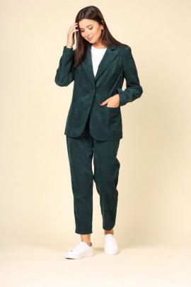 Женский костюм ROMA MODA М617 зеленый