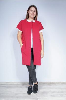 Пальто LUXTEX 0516 красный
