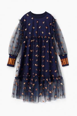 Платье Bell Bimbo 202207 т.синий