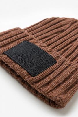 Шапка Favorini 31081 коричневый