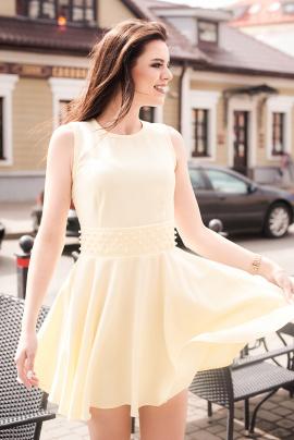 Платье Lady Line 423 желтый