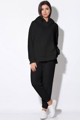 Спортивный костюм LeNata 21146 черный