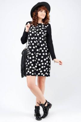Платье La rouge 25898 черный