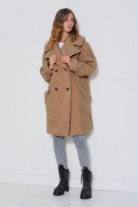 Пальто Fantazia Mod 3777 кэмел
