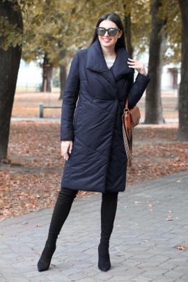 Пальто DOGGI 6289 синий