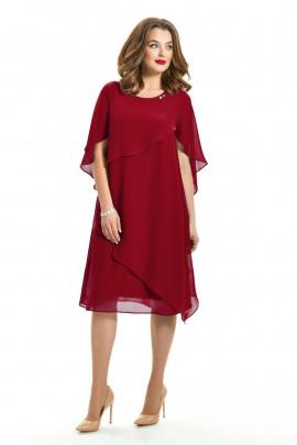 Платье TEZA 722 бордо