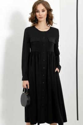 Платье DiLiaFashion 0413 черный