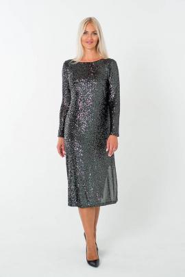 Платье Avila 0813 черный