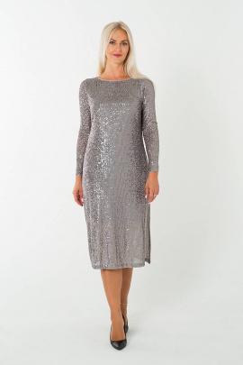 Платье Avila 0813 бежевый