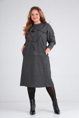Платье SOVITA M-2009 серый