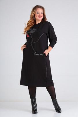 Платье SOVITA M-2009 черный