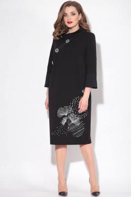 Платье LeNata 11147 черный