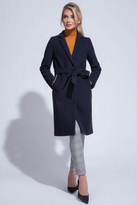Пальто ElectraStyle 4-5642/2-128 темно-синий