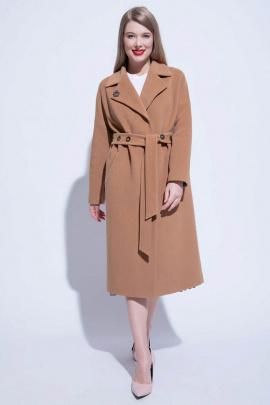 Пальто ElectraStyle 4-7038/11-128 кэмел