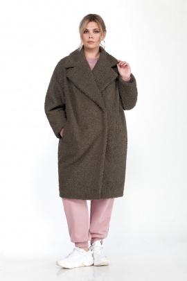 Пальто Pretty 1585 олива
