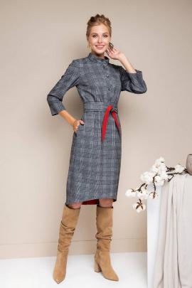 Платье Daloria 1623 серый