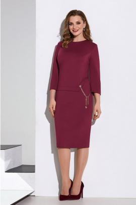 Платье Lissana 4177 ягодный