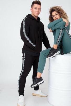 Спортивный костюм HIT 0312 черный