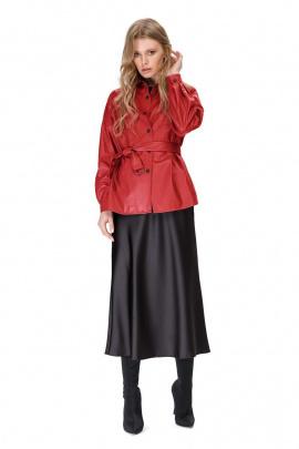 Юбка, Рубашка PiRS 1536 красный+черный