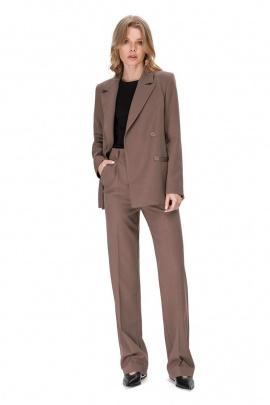 Женский костюм PiRS 1668 темно-бежевый