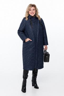 Пальто Pretty 788 темно-синий