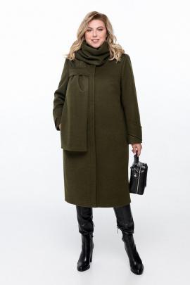Пальто Pretty 1162 хаки