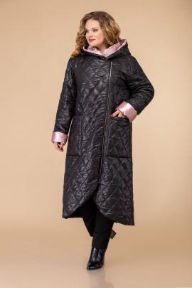 Пальто Svetlana-Style 1459 черный+розовый
