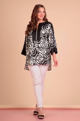 Брюки, Блуза Liona Style 639 черный