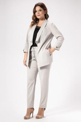 Женский костюм Панда 463220 серый