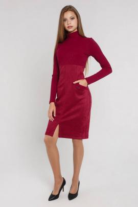 Платье Art Oliya 272 бордовый